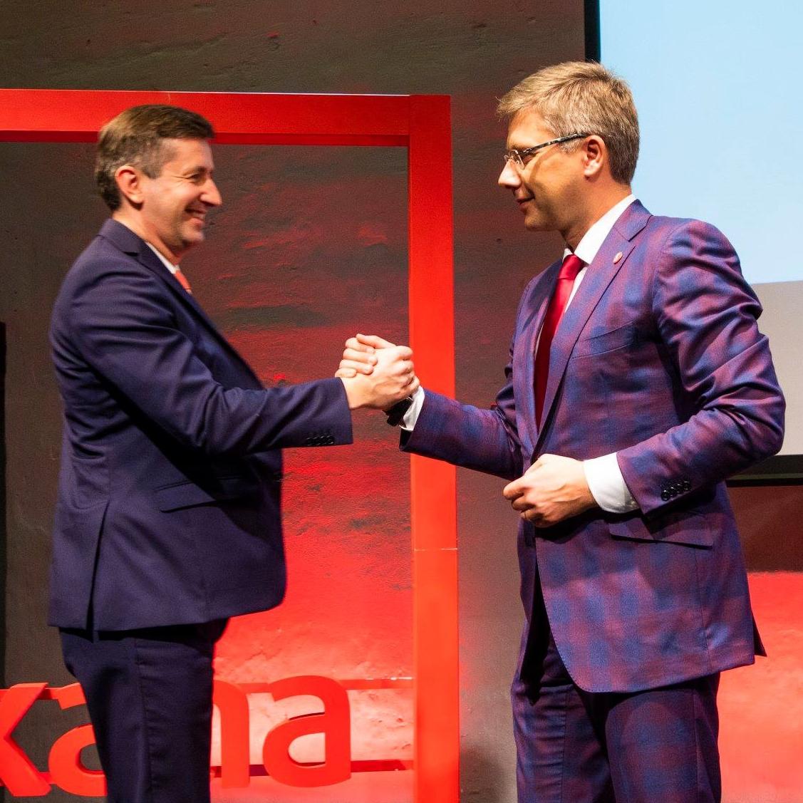 """SDP """"Saskaņa"""" saraksta līderis Eiroparlamenta vēlēšanās būs Vjačeslavs Dombrovskis"""