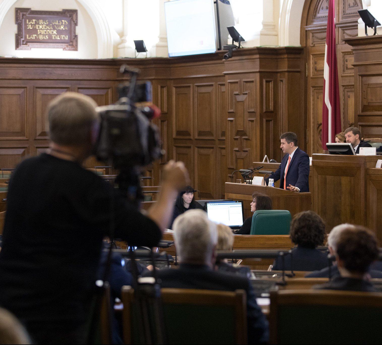 «Saskaņas» deputāti piedāvā iekļaut Rīgas domes atlaišanas likumā tā patieso mērķi