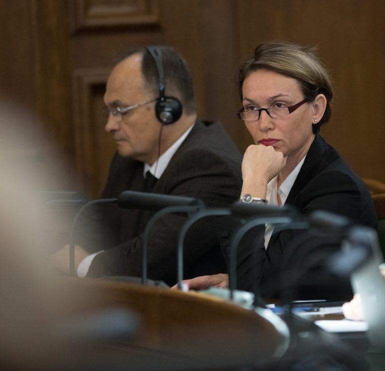 Ļubova Švecova: krīzes apstākļos parlamentam ir īpaši jākontrolē izpildvaras darbs
