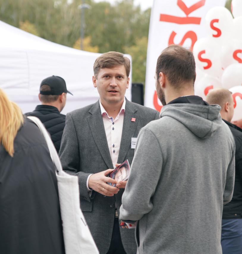 «Saskaņas» saraksta līderis Rīgas domes ārkārtas vēlēšanās – Konstantīns Čekušins