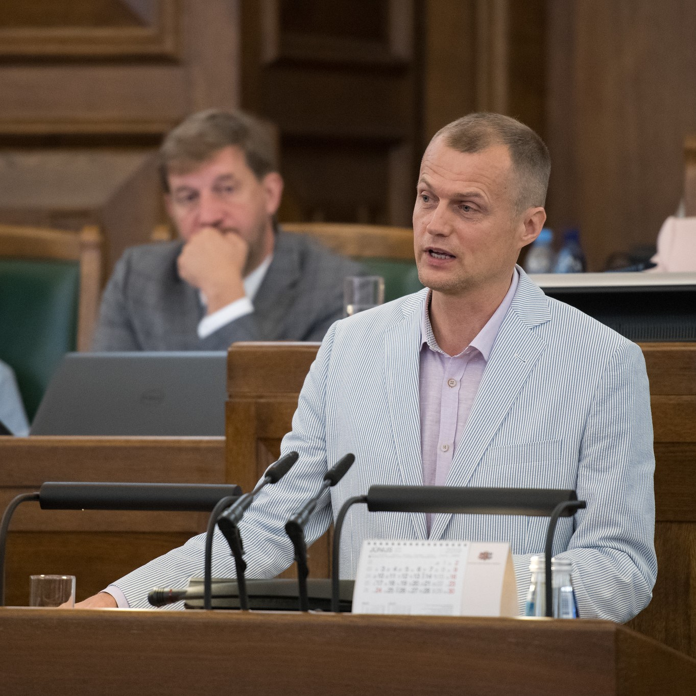 Ivars Zariņš: Kādēļ šodien vairāki opozīcijas deputāti boikotēja prezidenta Levita uzrunu Saeimā?
