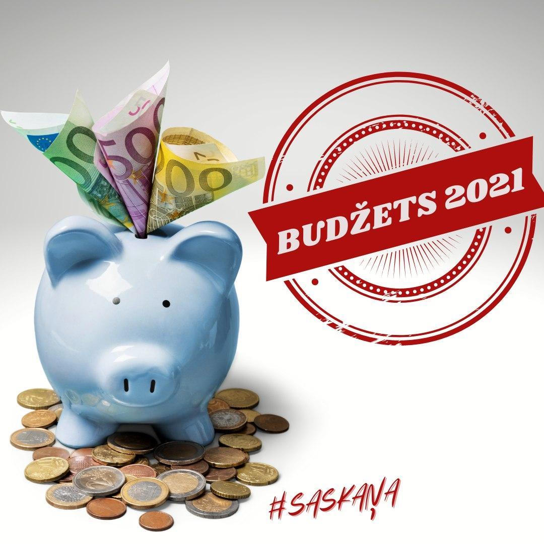 """""""Saskaņa"""" iesniegusi priekšlikumus valsts 2021.gada budžetam: rosina samazināt PVN no 21% uz 18%, palielināt finansējumu sociālām vajadzībām un pedagogu atbalstam"""